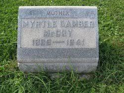 Annie Myrtle Gamber McCoy (1865-1941) - Find A Grave Memorial