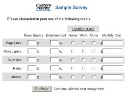 Surveys Formats Survey Sample Magdalene Project Org