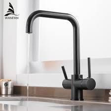 Waterfilter Taps Kitchen Faucets Brass Mixer Drinking Kitchen Purify