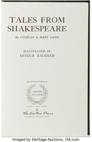 Arthur Rackham Illustrator William Shakespeare Charles And Mary
