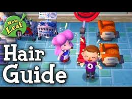 New Leaf Hair Color Chart Lets Play Animal Crossing New Leaf 014 Grazia Hat