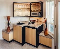 Modern Small Home Bar Design