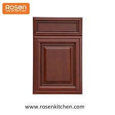 mahogany solid wood door panel laminate veneer plywood flat panel kitchen cabinet doors
