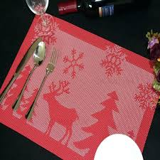 dining table placemats red lot fawn for dining table stain resistant kitchen round dining table plastic mats