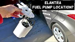 Where Is The Fuel Pump Located On Hyundai Elantra 2011 2012 2013 2014 2015 2016 Youtube
