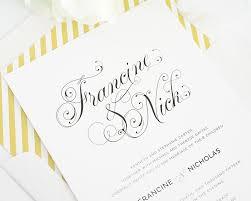 2016 wedding invitations with beautiful script font