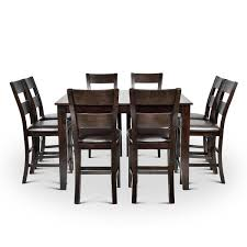 Alcott Hill Wynwood <b>9 Piece Solid</b> Wood Dining Set & Reviews ...