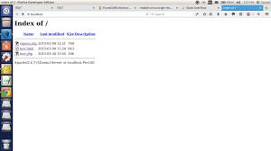 apache - Opening HTML files on localhost (Ubuntu) - Stack Overflow