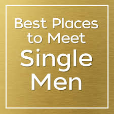 places meet single men