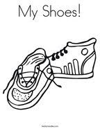 Feel free to print and color from the best 40+ coloring pages shoes printable at getcolorings.com. Shoe Coloring Pages Twisty Noodle