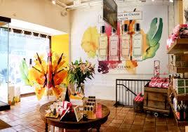 sheridan design l occitane s spring store in soho ny brainstorm