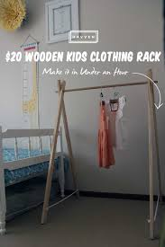 Wood Coat Rack Diy Furniture Diy Clothes Rack Design Inspiration Kropyok Home 59