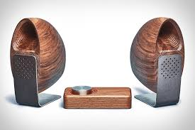 office speaker system. Grovemade Wooden Speaker System Office