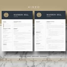 Microsoft Word Resume Templates For Mac Awesome Letal Resume Template For Word Madison 28% Editable Instant