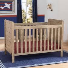 Rustic Whitewash Crib   Wayfair