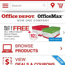 Office Depot Logo Design Mesmerizing Office Depot ECommerce UX Case Study Baymard Institute