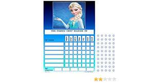 Disney Frozen Elsa Childrens Good Behaviour Reward Task