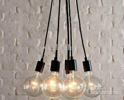 pendant lighting edison. Outstanding Y Edison Chandelier Light Pendant Lamp Ceiling Hanging 7 Bulbs Regarding Bulb Popular Lighting W