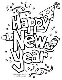 Download them or print online! Coloring Page New Year Coloring Pages New Year Clipart New Year S Eve Crafts