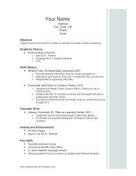 Athletic Resume Template Best Athletic Director Resume Photos Simple ...