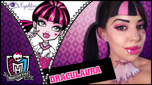 draculaura monster high makeup tutorial by eolizemakeup you