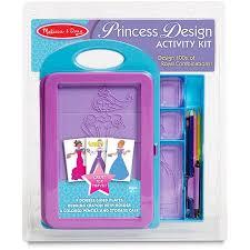Melissa & Doug <b>Princess Design</b> Activity Kit - 9 Double-Sided Plates ...