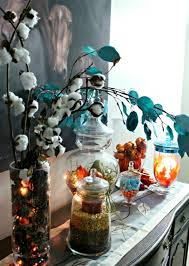 Apothecary Jars Decorating Ideas Huge Assortment of Apothecary Jar Ideas for Fall Decor 93