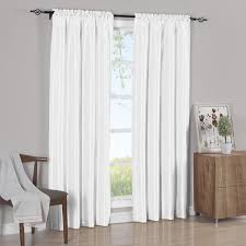 white curtain panels. White Curtain Panels Soho Faux Silk (Set Of 2) B