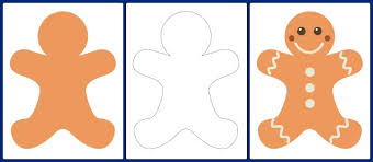 Small Picture Gingerbread Man Templates Gift of Curiosity