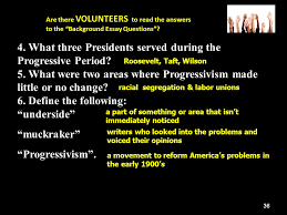 "progressivism where will you put your million dollars "" ppt  36 4"