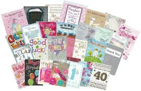 Starter Pack Of 3 864 Large And Small Greeting Cards