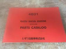 isuzu manuals books isuzu 4bd1 diesel engine parts manual for hitachi esp 012