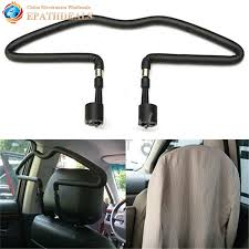 Coat Rack For Car Stainless steel Car Scalable Hangers Back Seat Headrest Coat Clothes 70