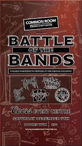 Coors Event Centre Common Room Battle Of The Bands Small