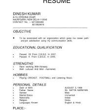 Different Types Of Resume Reference Different Types Resumes Resume