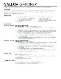 20 Retail Store Manager Resume Sample Free Resume