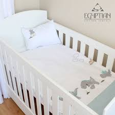 baby dinosaur egyptian cotton cot duvet cover set available at sandkids