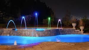 inground pools at night. Simple Night For Inground Pools At Night