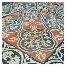 breathtaking vintage tile flooring antique floor french handmade the company bathroom kitchen pattern wood vinyl style