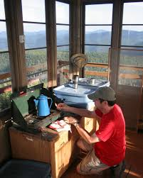 Fire Towers For Sale Fire Lookout Lodges Offer History Views And Uncommon Shelter