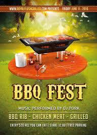 Download Free Bbq Fest Flyer Back Yard Backyard Barbecue