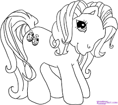 kids pony coloring pages inspirational how to draw my little pony step by step cartoons