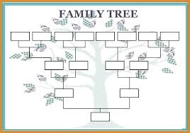Family Tree Maker Templates Create Your Own Family Tree Template Andeshouse Co