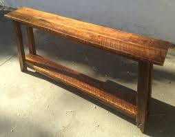 diy sofa table narrow console table