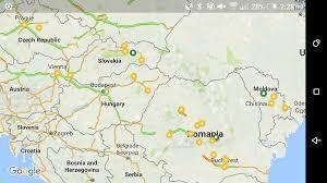 Google Maps Europe Hurricane Tracking Map