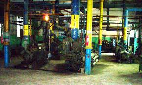 ОТЧЁТ ПО ПРАКТИКЕ   и маслоохладителей техническая вода поступает с ГРЭС через собственную насосную станцию с системой фильтрации производительностью до 200 м^3 ч