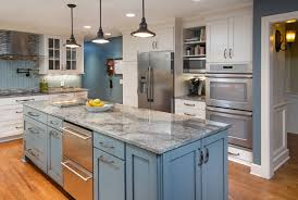 Kitchen Remodeling Columbus Ohio Hot Trend In Kitchen Remodeling Painted Cabinets Kitchen Kraft Inc