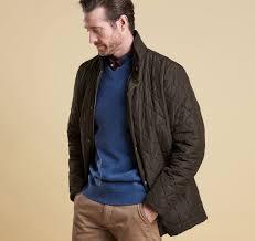 Barbour Mens Devon Quilted Jacket &  Adamdwight.com