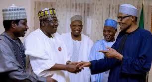 Image result for Ahmed Lawan and Buhari