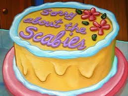 Spongebob Sorry About The Scabies Birthday Cake Home Facebook